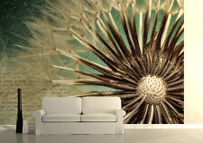 Large PHOTO WALLPAPER bedroom & living room WALL MURAL nature dandelion seed