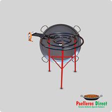 90cm Authentic Spanish Paella Pan & 70cm Gas Burner Kit / Set