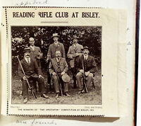 1901 Manuscript - Rifle Club - SHOOTING RANGE - GUN LAWS - Army Privileges