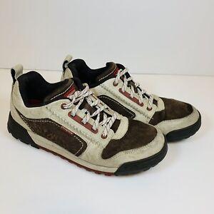 PATAGONIA Mens Boaris Shoes Natural/Henna Brown Sz 11 Vibram Leather