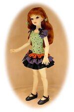 Lilac Afternoon for Msd, Dress pattern for Slim Msd Bjd dolls & Ellowyne Wilde