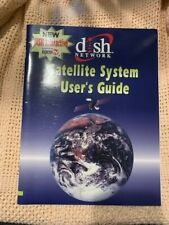 New listing Dish Network satellite system users guide manual