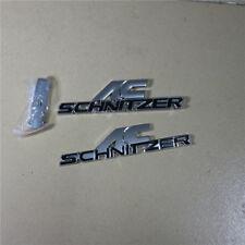 Black AC Metal Grille Emblem + Badge Sticker schnitzer Sport Performance Logo 3D
