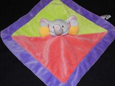 Sunkid Elefant bunt lila pink Schmusetuch 071 Neu