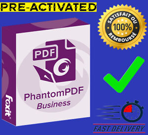 Foxit PhantomPDF Business 10 | 2020 | Full Version| WIN |Pre-activated 🔥 ✅