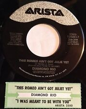 Diamond Rio 45 This Romeo Ain't Got Julie Yet/I Was Meant To Be With You EX w/ts
