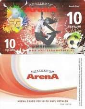 Arenakaart A122-01 10 euro: Zomer 2011