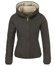*NEW SAVE THE DUCK hypoallergenic Down $298 Reversible ITALIAN JACKET w/ BAG M L