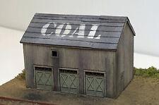 BRANCH LINE COAL HOUSE N Model Railroad Structure Unntd Laser Wood Kit RSM2105N