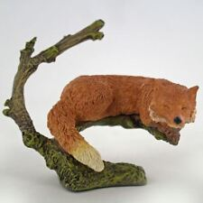 More details for fox sleeping bowbrook collectable ornament figurine home decoration