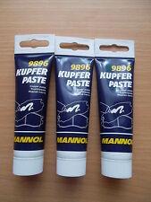 3 x MANNOL Kupferpaste Copper Paste Hochtemperaturfett  9896 150g