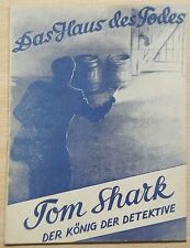 Tom Shark (Moewig-Nachkrieg) Nr. 1-60 kpl. im Zustand 0-1 / Zustand 1