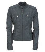 AEROPOSTALE AERO Women Faux Leather Pocketed Jacket Coat XS,S,M,L,XL,2XL NEW NWT