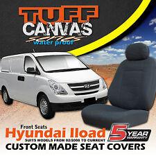 TUFF CANVAS HYUNDAI ILOAD Custom SEAT COVERS 2/2008-2019 AIR-BAG SAFE I-LOAD CH