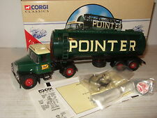 Corgi 97367 Scammell Highwayman & Tanker Trailer for Pointer in 1:50 scale.