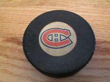Vintage 70s MONTREAL CANADIENS (NHL Viceroy) GAME USED Puck