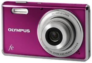 Olympus DigitalCamera Camedia Fe-4000 Pink Fe-4000 Pnk