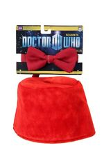 Dr Doctor Who Adult Fez & Bow Tie Kit By Elope