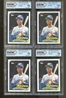 4 CT 1989 Topps Traded #41T Ken Griffey Jr. Gem Mint 10 RC Rookie Mariners Reds