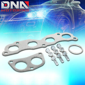 FOR 2003-2007 HONDA ACCORD 2.4L EXHAUST MANIFOLD HEADER ALUMINUM GASKETS SET