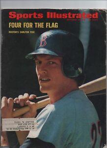 September 25 1972 Sports Illustrated Magazine BOSTON RED SOX CARLTON FISK Cover