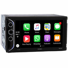 "JENSEN 6.2"" Double DIN Apple CarPlay Bluetooth Digital Media Car Stereo VX5228"