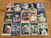 P) Lot of 200 WILL CLARK Baseball Cards TOPPS DONRUSS SCORE FLEER GIANTS +++