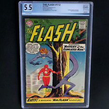 THE FLASH #112 (DC 1960) 💥 5.5 OW-W PGX 💥 1ST APPEARANCE OF ELONGATED MAN!