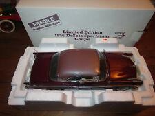 Danbury Mint Limited Edition 1956 Desoto Sportsman Coupe Undisplayed