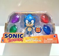 Sonic Jazwares figure with light up emeralds gems Brand NEW and Rare in Stock