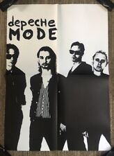 Depeche Mode Vintage Poster Group Shot Promo Music Ad Pin-up Retro 1980's