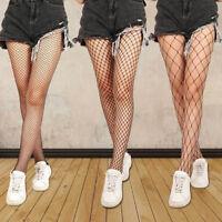 FT- Women Ladies Black Mesh Fishnet Net Pattern Pantyhose Stockings Sock AU Prop