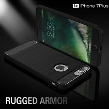 iPhone 5 5S SE (BLACK) Spigen Rugged Armor Drop resistance Soft Back Cover