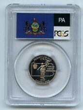 1999 S 25C Clad Pennsylvania Quarter PCGS PR70DCAM