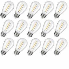 Waterproof S14 Led Light Bulbs Outdoor String Lights Replacement E26 Base Edison