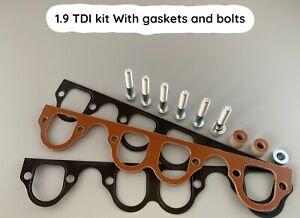 Phenolic Spacer Kit - Reduce Intake Temps! 1.9 TDI Kit (Bolts, Gaskets) ARL,ASZ