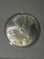 2016 SILVER MEXICO Mexican Libertad LEY 1 Onza, Plata Pura, Silver Coin ! In cap