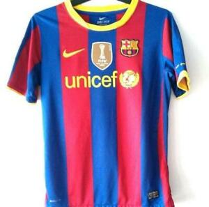 Nike Barcelona Home Messi 10 Size Youth-Large