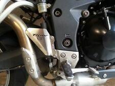 TRIUMPH 1050 TIGER (07 >) en acier inoxydable pied peg talon PLAQUES Beowulf hptr 003