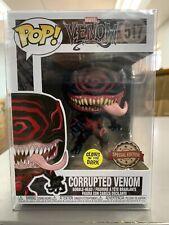 Funko Pop Marvel Venom Special Edition Corrupted Venom Glows #517 MINT w/ Protec