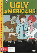 Ugly Americans : Volume 2 (DVD, 2012--REGION 4-Brand new-Free postage