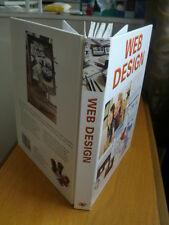 Beginners guide WEB DESIGN hardback book 2002 1903817927 by Roger Laing Rhys vgc