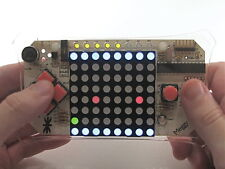 Meggy Jr Arduino Compatible Handheld Game Controller Kit with 8x8 RGB LED Matrix