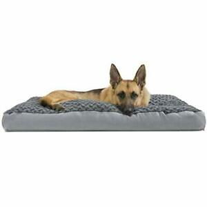 Furhaven Pet Dog Bed - Deluxe Ultra Plush Faux Fur Pillow Cushion Traditional...
