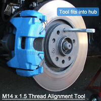 Wheel Tyres Rim Fitting Removal Alignment Change Tool For VW M14 x 1.5 Bolt  ∑
