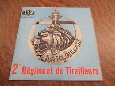 45 tours 2eme regiment de tirailleurs ex. 2e R.T.A. marche du 2e R.T.A.