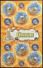 Dr. Stinky's Scratch & Sniff Stickers - Onion - Mint Condition!!