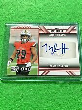 TYLER HALL AUTO ROOKIE CARD FALCONS RED RC 2020 SAGE HIT PREMIER DRAFT SIGNED RC