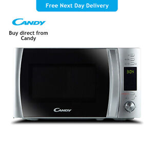 Candy CMXW20DS-UK Freestanding Digital Solo Microwave 20L 700W - Silver