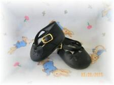 Reborn Doll  Ribbon Side Mary Jane Shoes size 72 mm Black ~ REBORN DOLL SUPPLIES